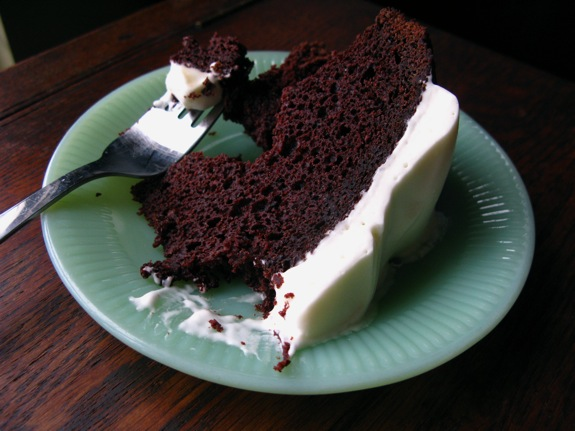 chocolate guinness cake 010