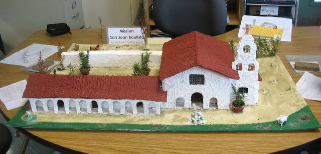 What Materials Were Used To Build Mission San Miguel Arcangel
