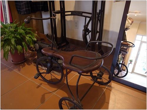 千樺花園。古董腳踏車
