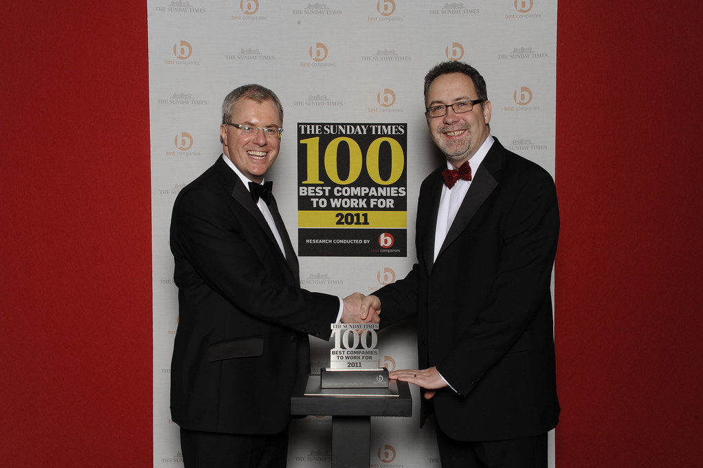 Access ranked as one of the UK's top employers