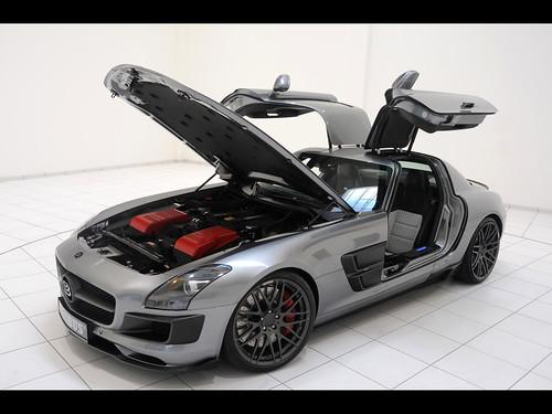 2011-Brabus-Mercedes-Benz-SLS-AMG-700-Biturbo-Front-And-Side-Open-Doors-2-1280x960