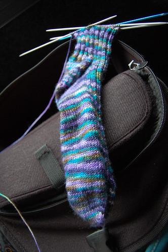 bus knittin'