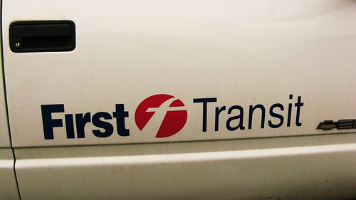 The First Transit logo. Glenview Illinois USA. March 2011. by Eddie from Chicago
