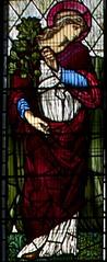 St Dorothy (IanAWood) Tags: london raw stainedglass williammorris putney allsaintschurch churchwindows churchofengland morrisco d3x siredwardburnejones walkingwithmynikon nikkorpce24f35 surreychurches