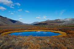 Blackstone Uplands (kdee64) Tags: september dempsterhighway northernyukon blackstoneuplands northogilviemountains karstpond