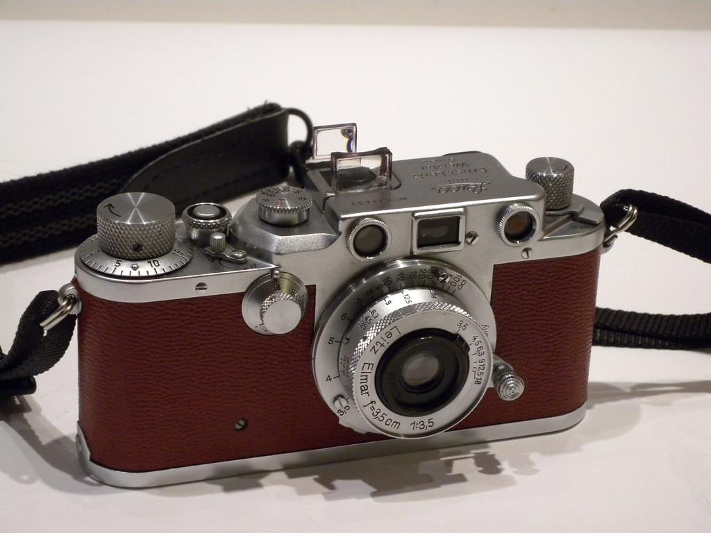 Leica IIIc with 3.5cm f/3.5 Elmar