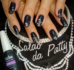 colorama com konad prata (Patty Zanatta) Tags: unhas konad