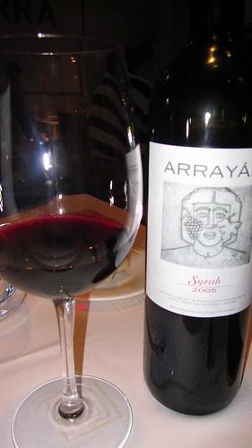 Arrayán Syrah 2005 - Bodegas Arrayán