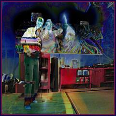 Jazzy Ghost Trio (Tim Noonan) Tags: music art colors digital photoshop tim interior ghost stripe vivid jazz manipulation haunted negative condo imagination experimentation rgb figures mosca dwight hypothetical vividimagination shockofthenew sotn newreality sharingart maxfudge awardtree maxfudgeexcellence maxfudgeawardandexcellencegroup selectbestexcellence trolledproud trollieexcellence sbfmasterpiece exoticimage