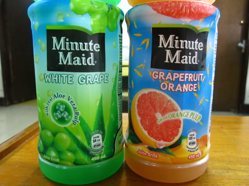 Minute Maid Flavors