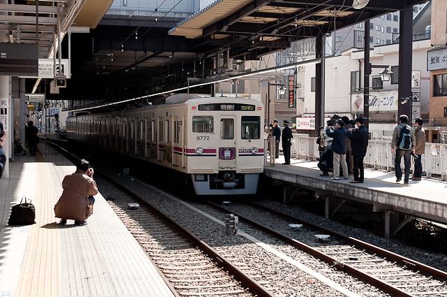 京王6000系 最終列車