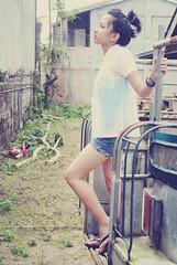 Mariella Baybay (daryllbaybay) Tags: summer fashion model jeep jeepney mariel mariella baybay
