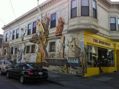 street mural in SF