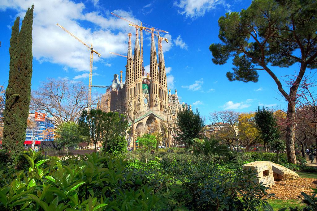 Sagrada Familia - HDR
