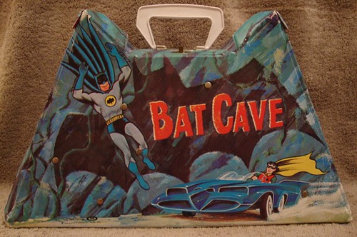 1966 Ideal Batman Batcave Carry Case #1
