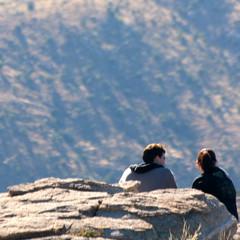 Mountain conversations [Photo by kevin dooley] (CC BY-SA 3.0)