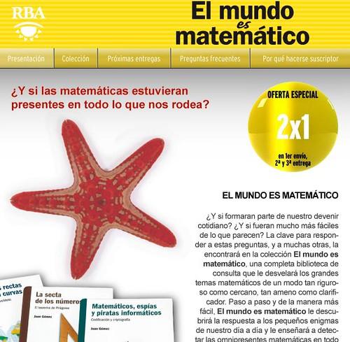 """Mi opinión sobre la colección """"Las matemáticas que nos rodean"""" de El País"""