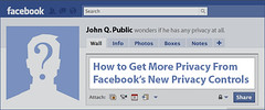 Facebook & Privacy