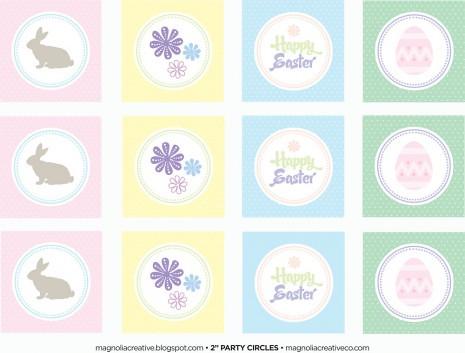 Pastel Easter Printables