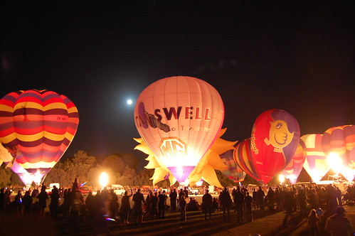 Night Glow ~ Balloons over Wairarapa 2011 ~ Masterton