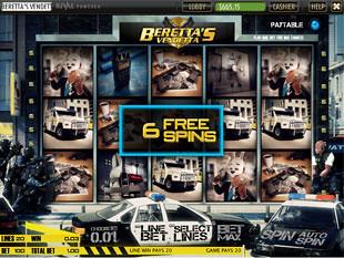 free Beretta's Vendetta slot free spins