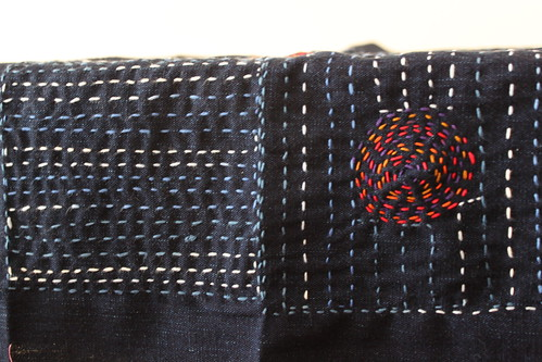 WIP - Playing with Sashiko
