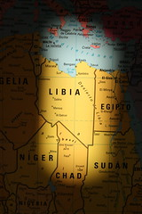 lybia map
