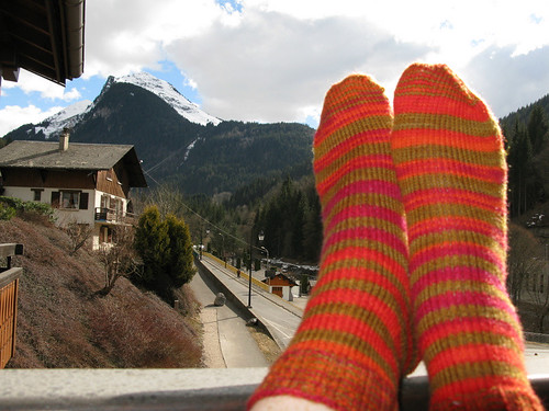 Hot Toddy Socks