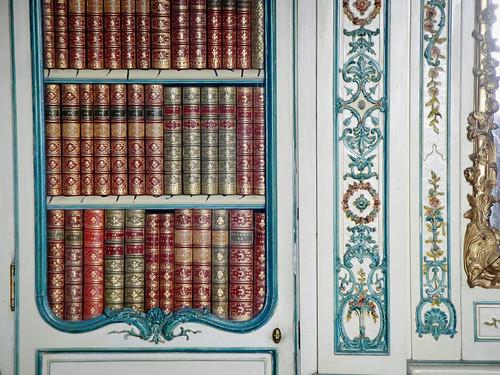 the royal bookshelf.