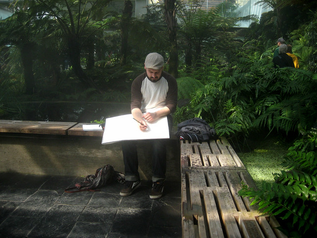 conservatory draw-athon