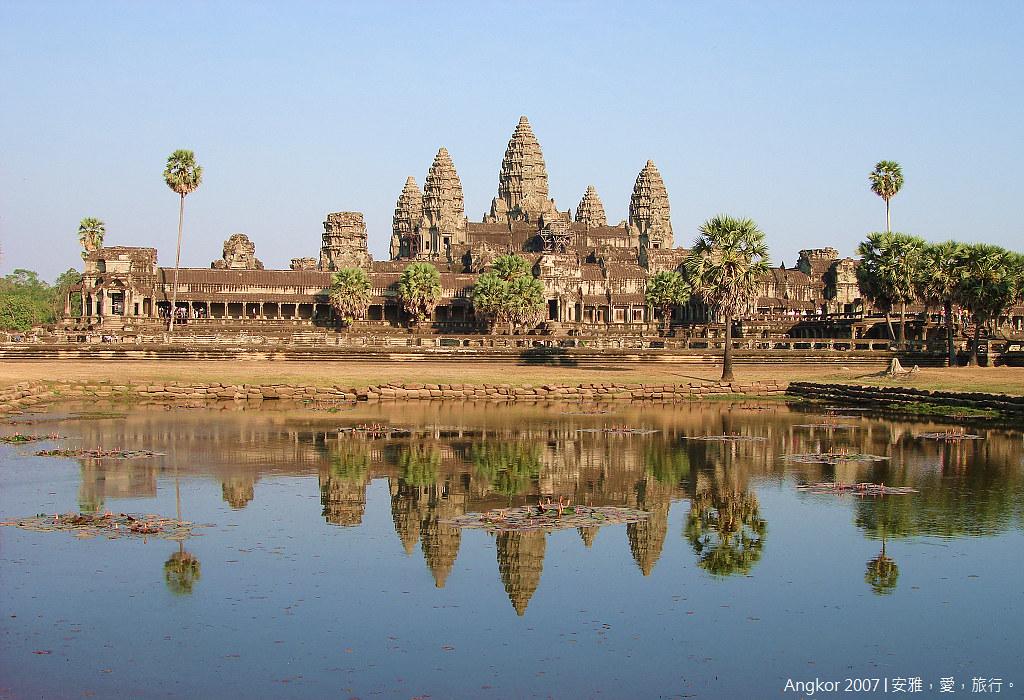 柬埔寨 吳哥窟 │ 小吳哥寺(Angkor Wat)的絕代風華。(二)