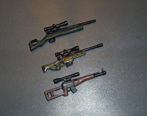 Custom minifig custom minifig sniper rifles