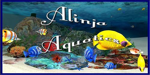Alinja Aquatics Logo