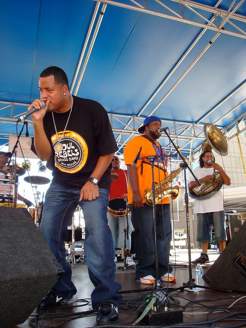 Soul Rebels Brass Band 2010 in Raleigh