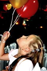 Princess (Veineleissa) Tags: girl hair children child princess balloon