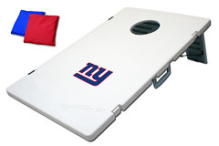 New York Giants TailGate Toss 2.0 Plastic Cornhole Boards