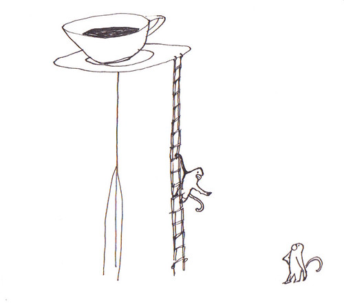 monkeys coffee ladder