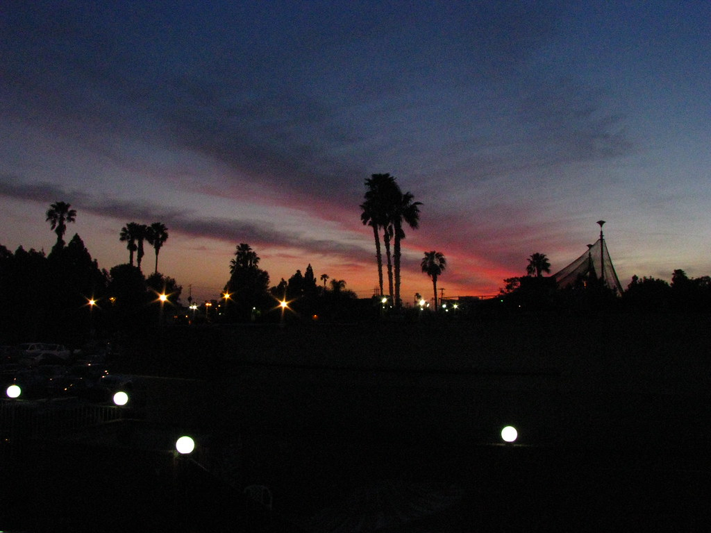 Sunset in Huntington Beach