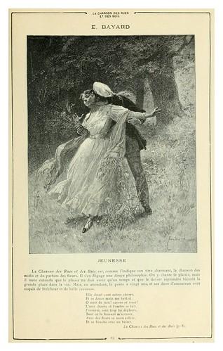 011-Juventud-La cancion de las calles y los bosques-Cent dessins  extraits des oeuvres de Victor Hugo  album specimen (1800)