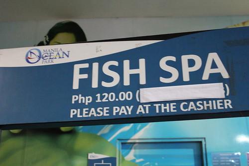 Ocean Park Fish Spa