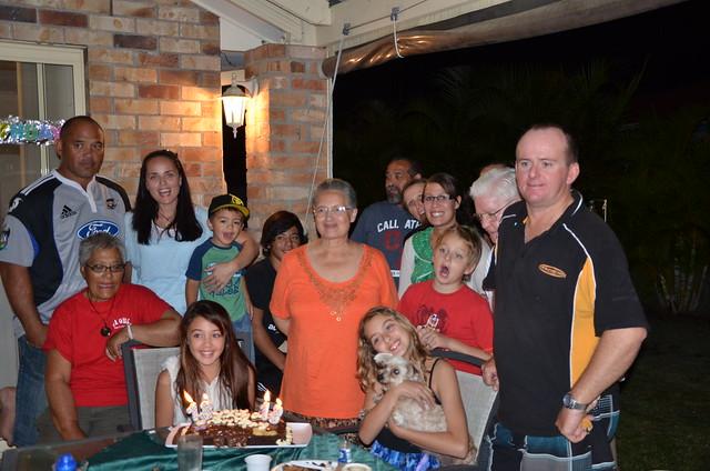 Taylor's Birthday Dinner