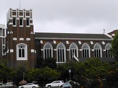(sftrajan) Tags: california brick church architecture oakland iglesia kirche stpaulschurch alamedacounty 2014 gothicrevival stpaulsepiscopalchurch adamspoint benjamingeermcdougall benjamingeermcdougal