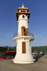 Lighthouse (Ivanov Andrey) Tags: lighthouse sea ocean coast sky cloud architecture water air bay beauty blue cape harbour horizon island journey ship port marina landscape nature kochang thailand