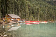Boat House (cec403) Tags: saddlebackpass lakelouise hike mountains larch banffnationalpark alberta canada canont4i