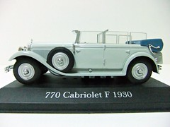 MERCEDES-BENZ 770 Cabriolet F (1930) - ALTAYA (RMJ68) Tags: mercedes benz 770 f cabriolet grosser 1930 w07 ixo altaya diecast coches cars juguete toy 143