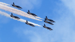 Breitling L-39 Jet Team (maida0922) Tags: em1 mzuiko40150mmf28pro mc14 california sandiego miramar marine corps air station mcas show miramarairshow miramarairshow2016 breitling jet team breitlingjetteam 2016 l39 aviation sky acrobat