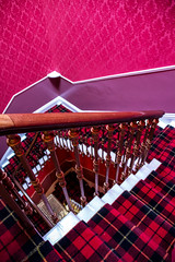 UK - Scotland - Edinburgh - Ritz Hotel (Marcial Bernabeu) Tags: marcial bernabeu bernabu uk united kingdom unitedkingdom greatbritain reino unido reinounido granbretaa scotland escocia edimburgo edinburgh scottish escocs escocesa red rojo roja stairs staircase escalera escaleras ritz hotel