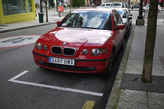 BMW (Jusotil_1943) Tags: coche auto cars redcars