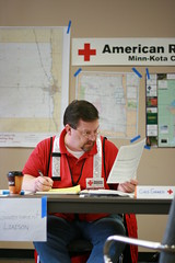 Red River Floods (American Red Cross) Tags: weather minnesota spring flooding disaster northdakota shelter redriver redcross americanredcross sandbagging