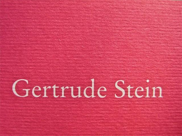 Gertrude Stein, Sollevante pancia, liberilibri 2011, [responsabilità grafiche non indicate]; copertina (part.), 4